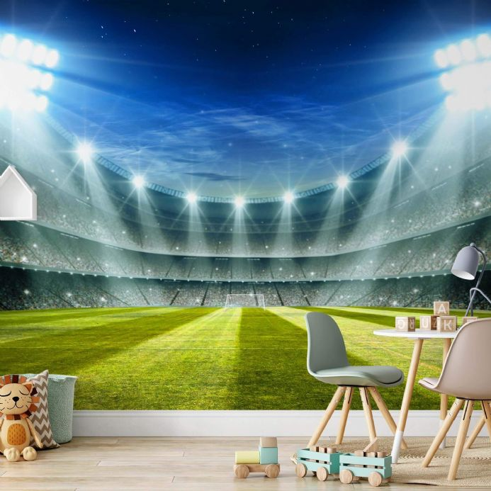 Photo wallpapers Football Stadium and many more  | Buy it online